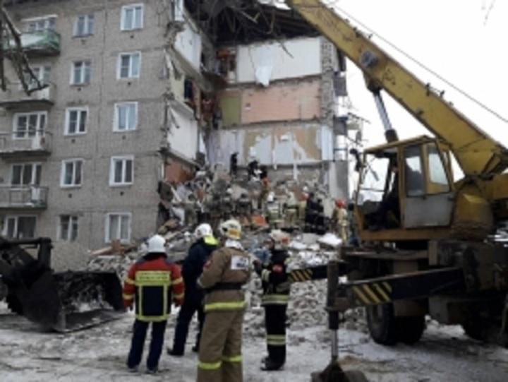 МЧС завершило разбор завалов наместе рухнувшего подъезда дома под Иваново