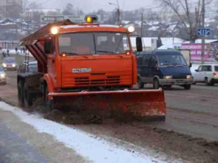 Заночь сулиц столицы вывезено неменее 250 тыс. кубометров снега